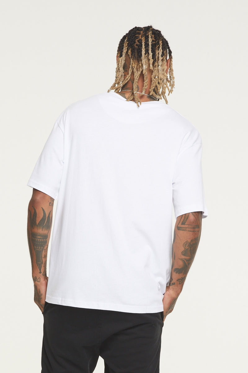 Oversized Nothing White Jersey