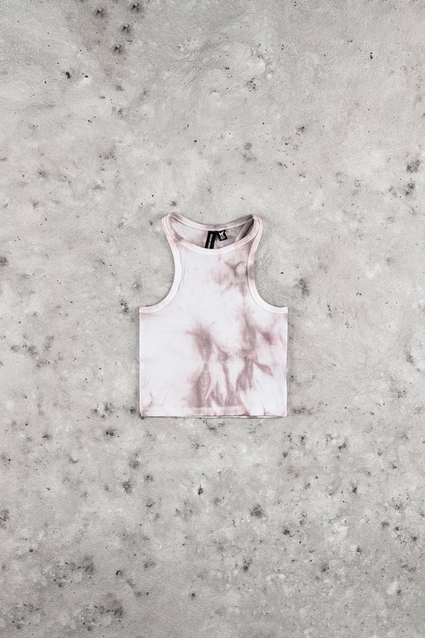 Tie Dye Grey Crop Top