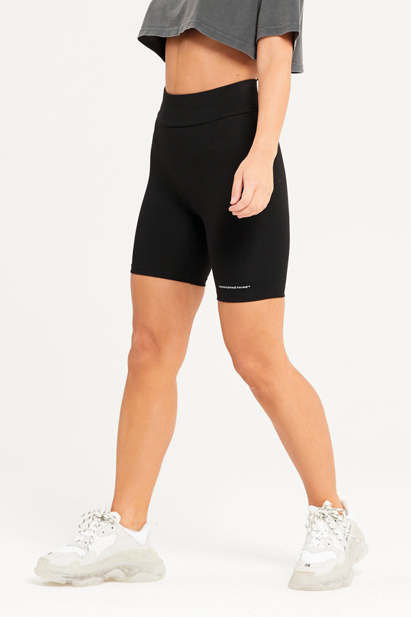 Premium Black Cycle Shorts
