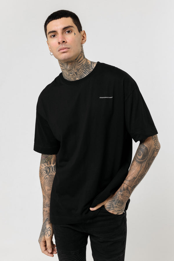 Oversized Everyday Black T-Shirt