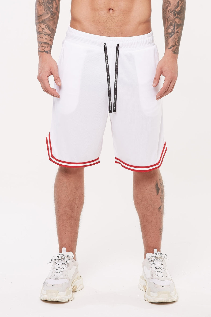 Nothing White Basketball Short