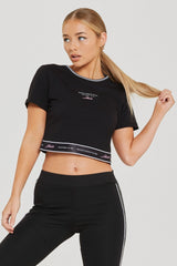 Authentic Black Crop Top