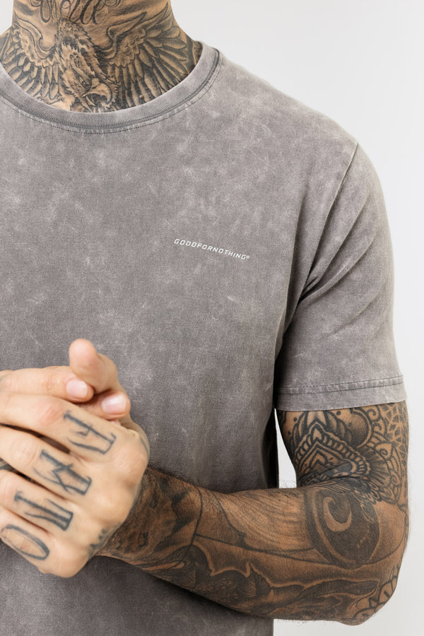 Everyday Acid Wash Grey T-shirt