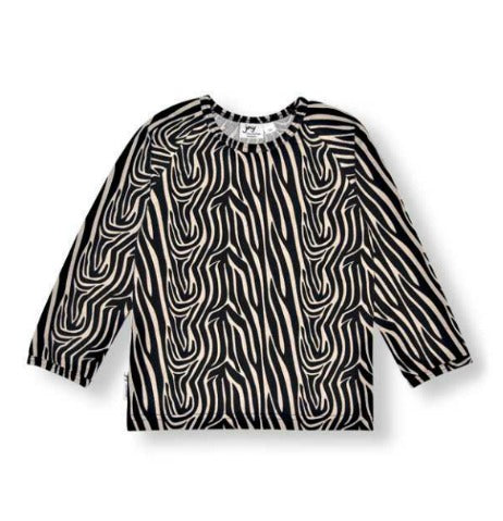 Shirt Tiger Stripe Size 8-9Yr