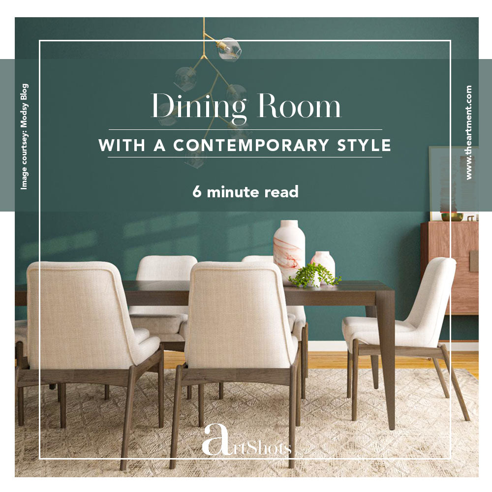 5 Ways to Get the Ideal Contemporary Dining Room