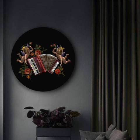 Angels Playing the Accordion Canvas