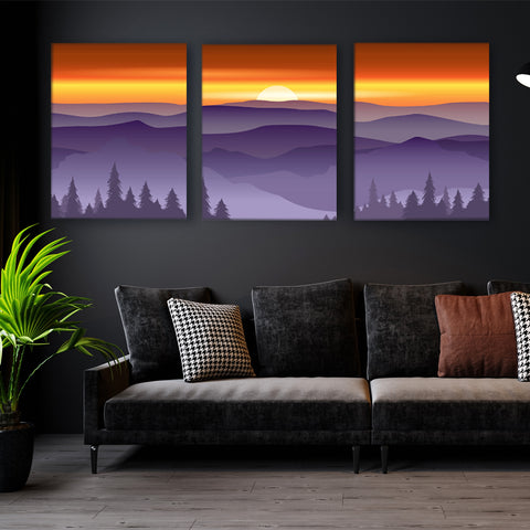 Sunset of a Lifetime Canvas