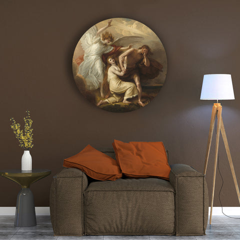 Adam and Eve of Paradise Canvas