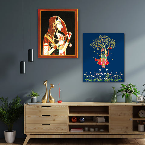 Blending Cultures with Love Canvas