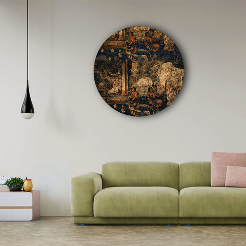 Stories on the Cave Wall Canvas