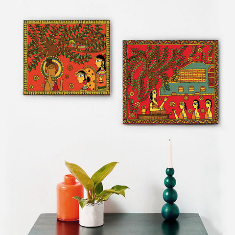 Under the Bodhi Tree Canvas