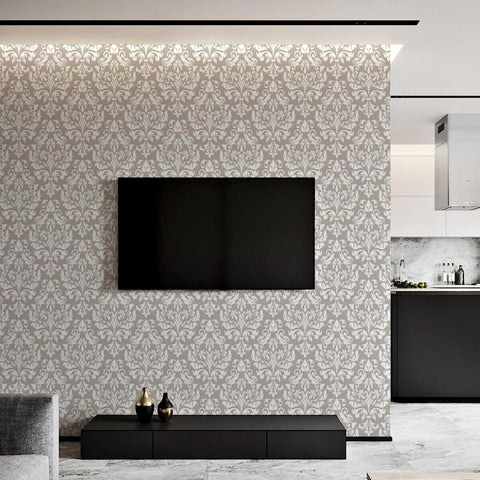 Fine Finesse Printed Textured Self Adhesive Mural Wallpaper
