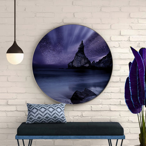 Lilac Night Canvas