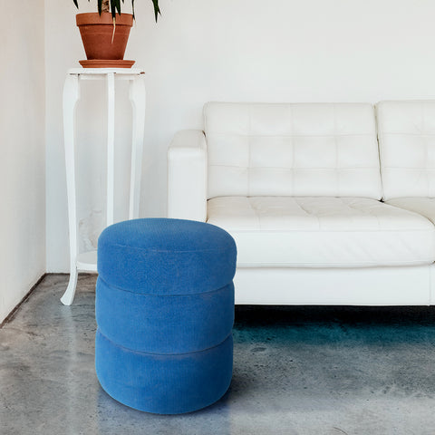 Modern Art Triple Tier Pouffe
