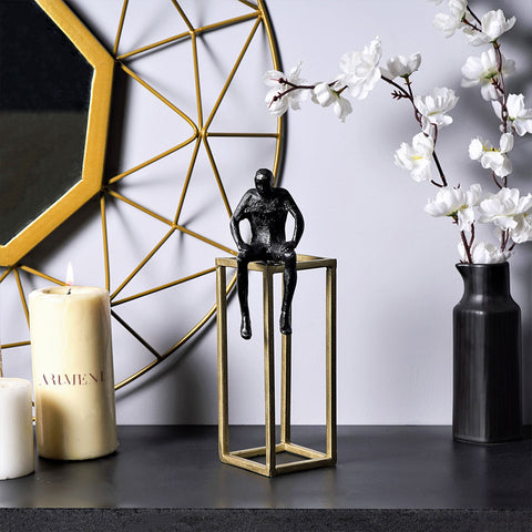 Modern Art The Thinker Table Accent