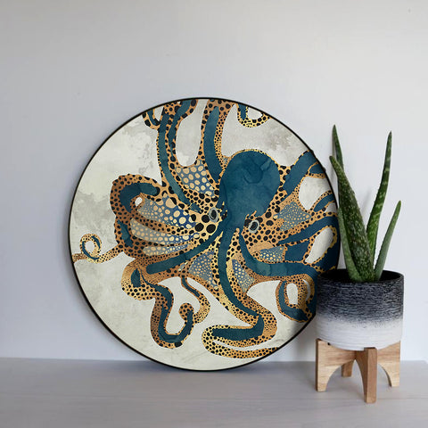 Wise Old Octopus Canvas