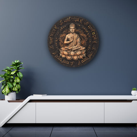 In Peaceful Meditation Canvas
