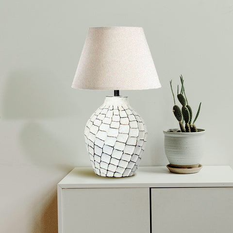 Chalky Nicked Table Lamp - The Artment