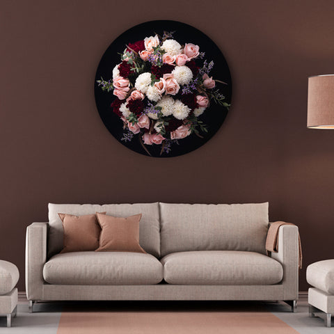 Pretty in Pink Flowers Canvas