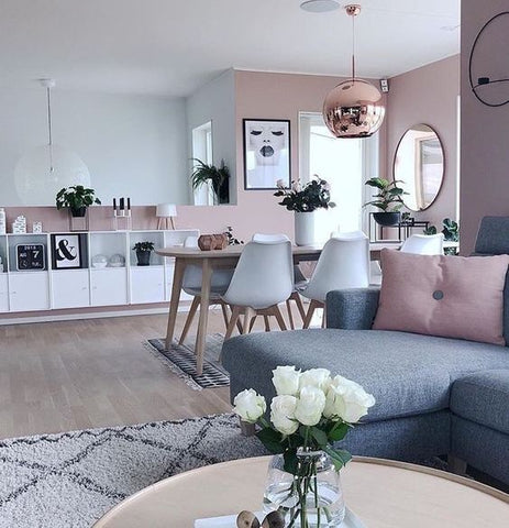 Creating a Beautiful Living + Dining Room