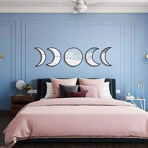 Phases of the Moon Wall Mirror
