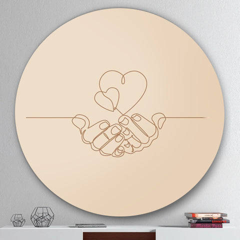 Our Loving Hands Canvas