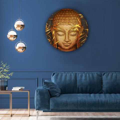 Buddha's Peaceful Features