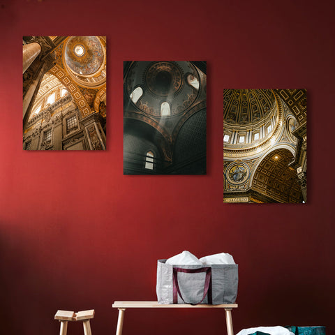 Domes to Heaven Canvas