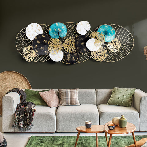 Bed of Lily Pads Wall Art