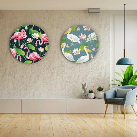 Quirky Colors of Nature Canvas