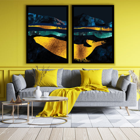 Golden King of the Sea Canvas