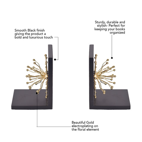 Golden Bloom Bookend – The Artment