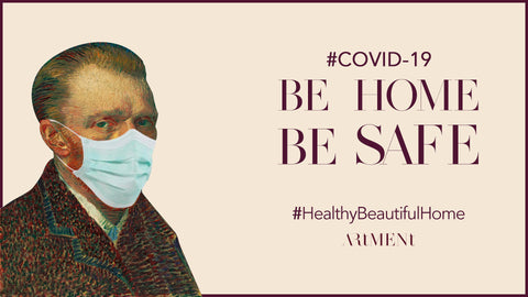 Covid-19 Be Home Be Safe #HealthyBeautifulHome The Artment