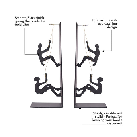 Climbing Man Bookend – The Artment