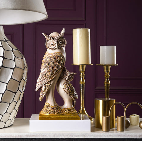 Rustic Golden-Winged Owls