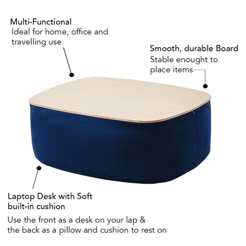 Modern Art Lap Cushion Desk Table
