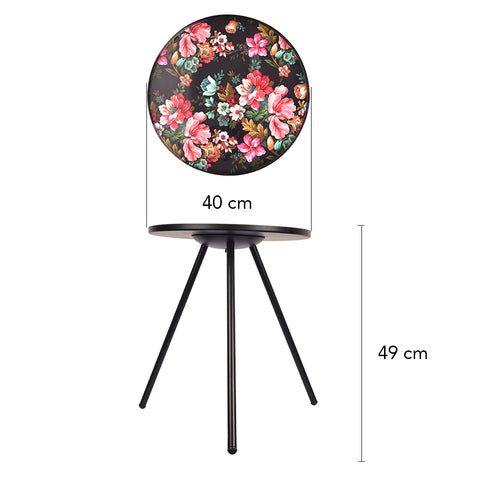 Flowers of the Night Accent Table