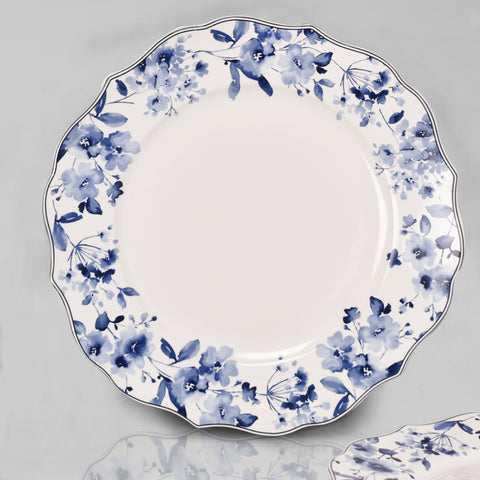 Lapiz Ink Dinner Plate Set (Dinner and Quarter Plate)