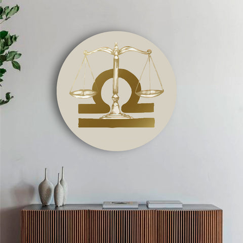 Fueled with Peace Libra Canvas