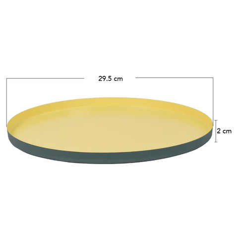 POP Yellow Serving Tray - The Artment