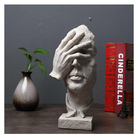 Surreal Thinker Table Accent