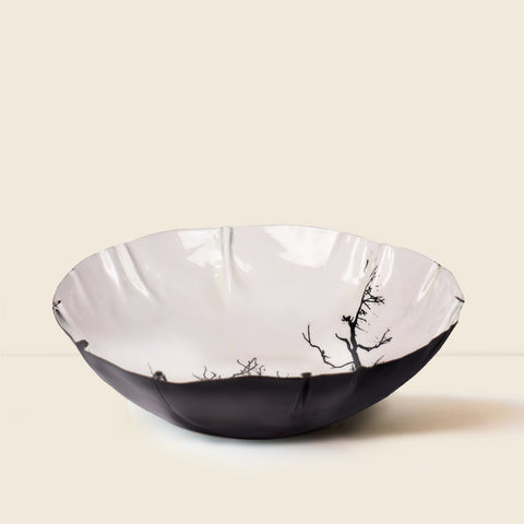 The White Forest Serving Bowl - The Artment