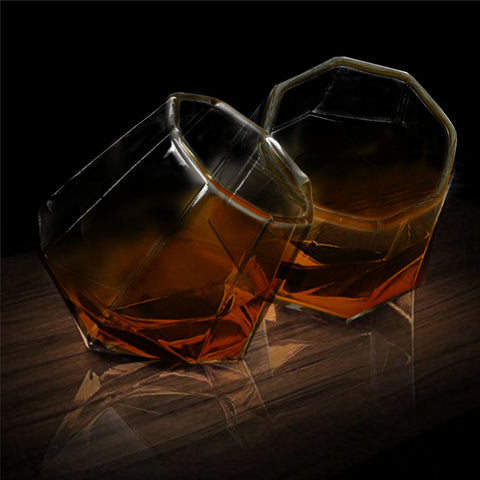 On the Edge Whiskey Glass