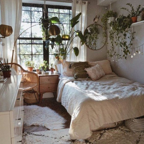A Free Spirit Bohemian Bedroom Decor for Your Happy Heart!