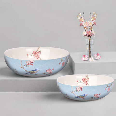 Azure Ixora Serving Bowl - The Artment