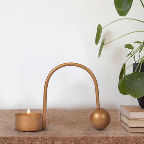 Minimalist Balance Candle Holder