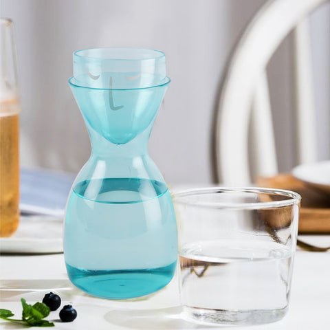 Zen Face Decanter Set