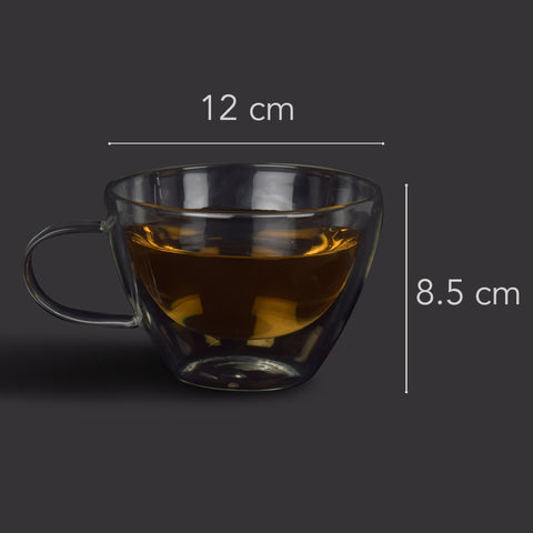 Minimalist Spirit Double Walled Tea Mugs - The Artment