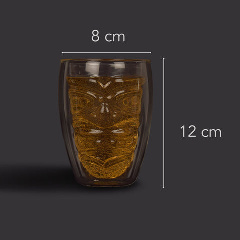 Totem Face Double Walled Glass - The Artment