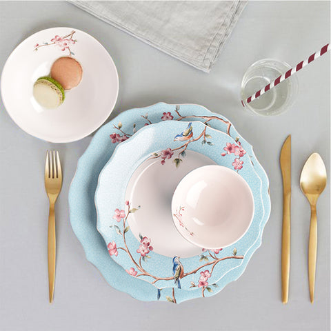 Azure Ixora Dinner Set - The Artment